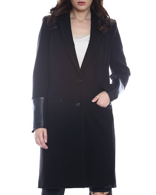 Emma Monti | Женское Чёрное Пальто