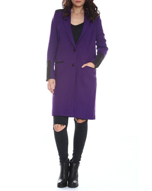 Emma Monti | Женское Фиолетовое Пальто