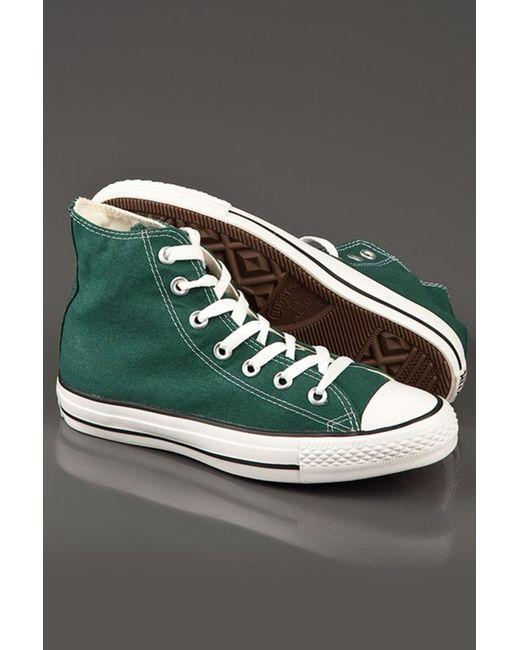 Converse | Мужские Зелёные Кеды