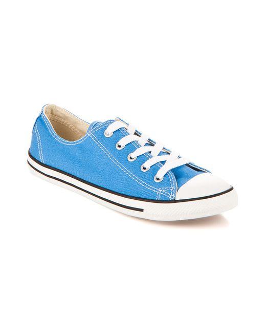 Converse | Женские Синие Кеды