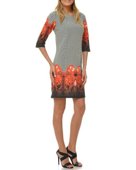 Selfie   Женское Многоцветное Платье