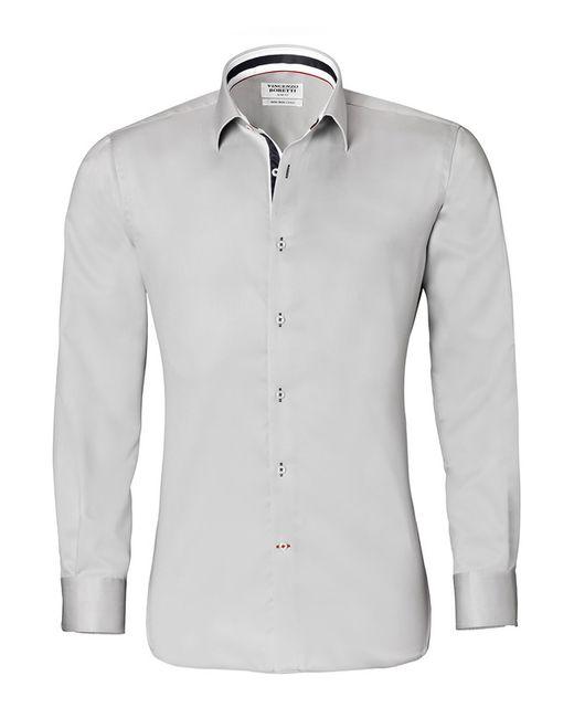 Vincenzo Boretti | Мужская Серая Рубашка