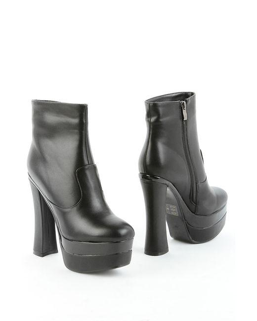 1to3 | Женские Чёрные Ботинки