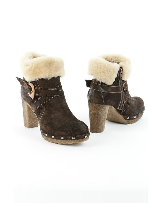 Sk | Женские Коричневые Ботинки