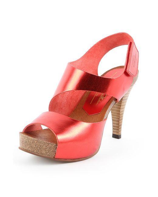 Penelope   Женские Красные Туфли