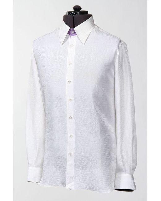 Gerlin | Мужская Белая Сорочка