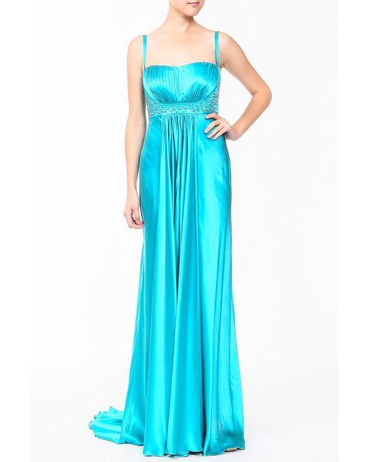 Dina Bar-El | Женское Голубое Платье