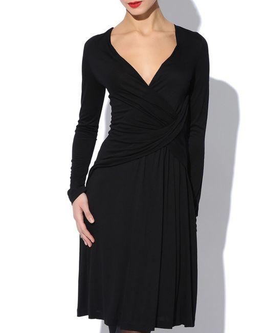 Versace Collection | Женское Чёрное Платье