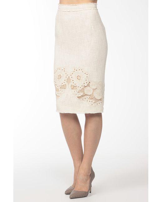 Dolce & Gabbana   Женская Бежевая Юбка