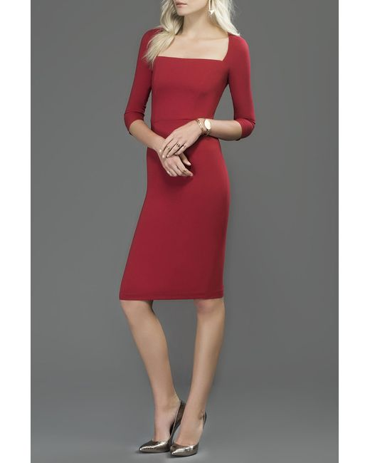 Milla   Женское Красное Платье