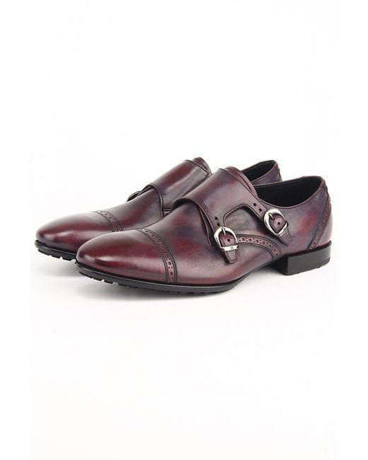 Fabi | Мужские Фиолетовые Туфли
