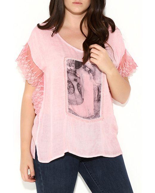 Zer Otanik | Женская Розовая Блузка