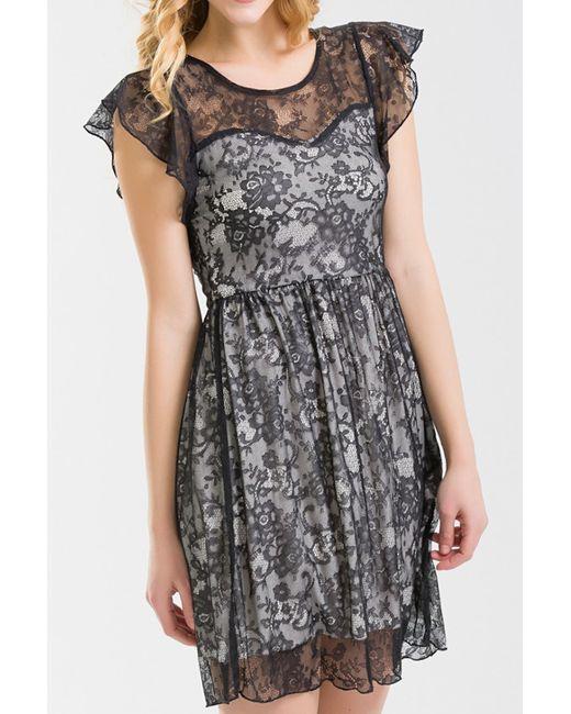 NUNA LIE | Женское Чёрное Платье