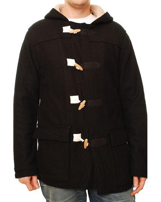 Denham   Мужское Чёрное Пальто
