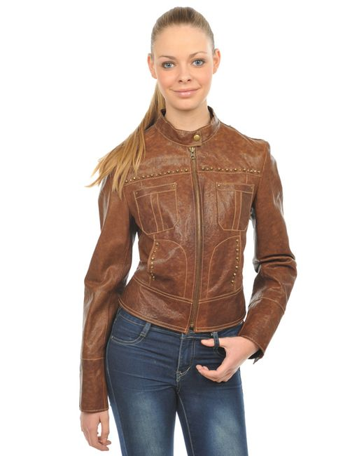 Arturo | Женская Коричневая Куртка