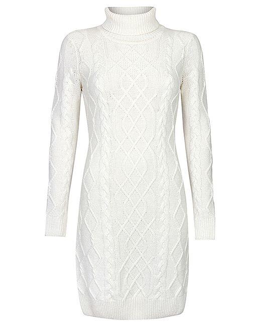 Savage | Женское Белое Платье