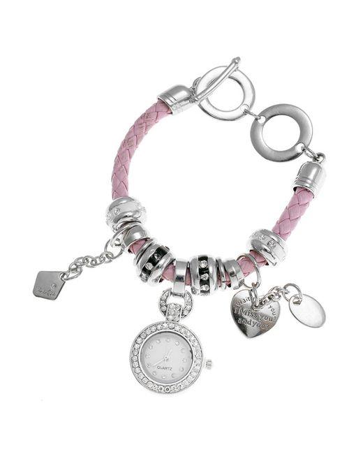 Migura | Женские Розовые Браслет-Часы