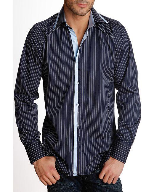 Gazoil   Мужская Синяя Рубашка