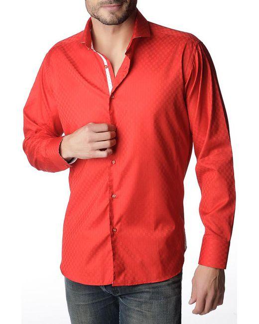 Gazoil | Мужская Красная Рубашка