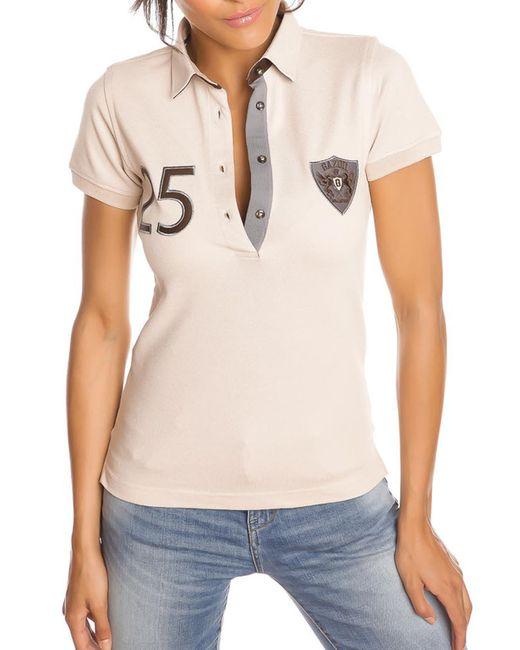 Gazoil | Женская Бежевая Рубашка-Поло