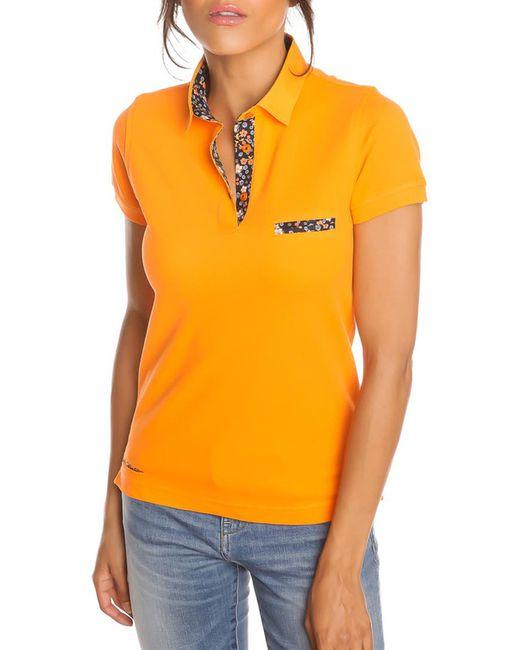 Gazoil   Женская Оранжевая Рубашка-Поло