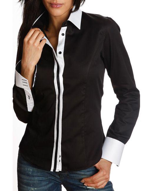 Gazoil | Женская Чёрная Рубашка