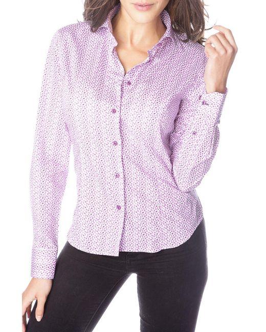 Gazoil | Женская Фиолетовая Рубашка