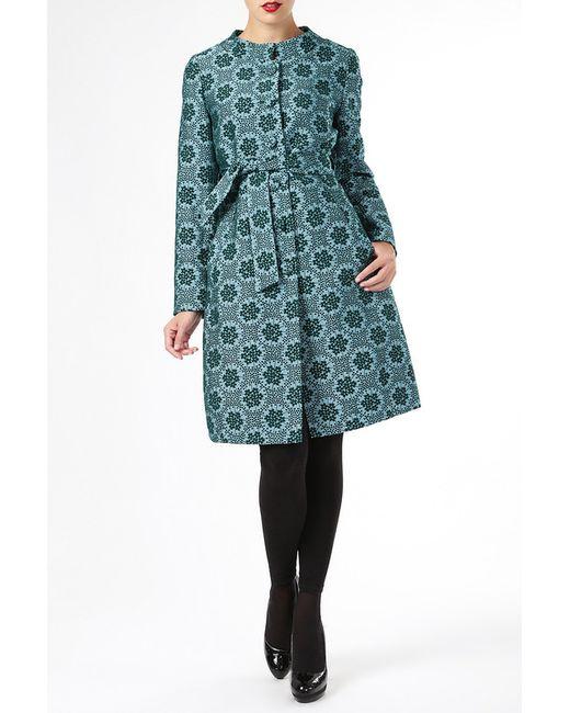 ELLEN EISEMANN   Женское Зелёное Пальто