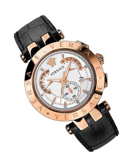 Versace   Мужские Золотые Часы Наручные