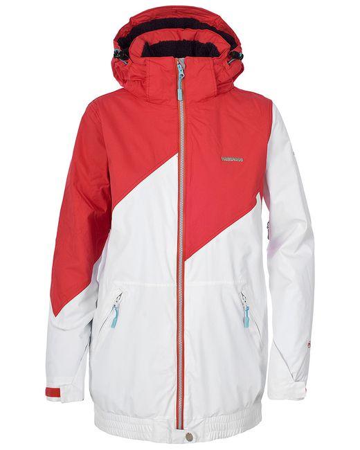 Trespass   Женская Белая Куртка