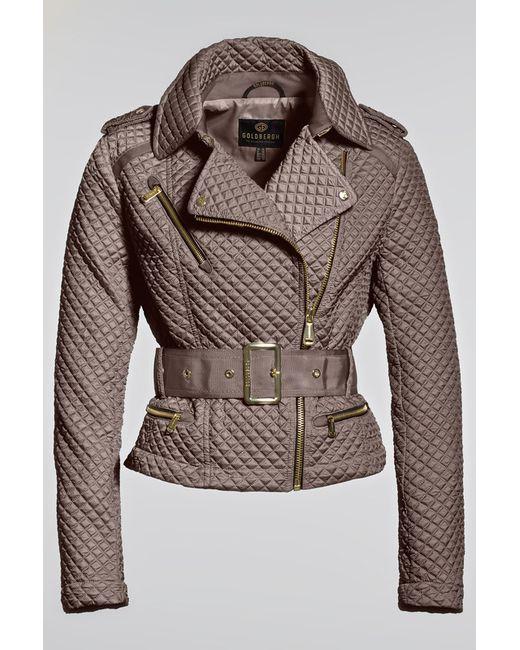 Goldbergh   Женская Коричневая Куртка