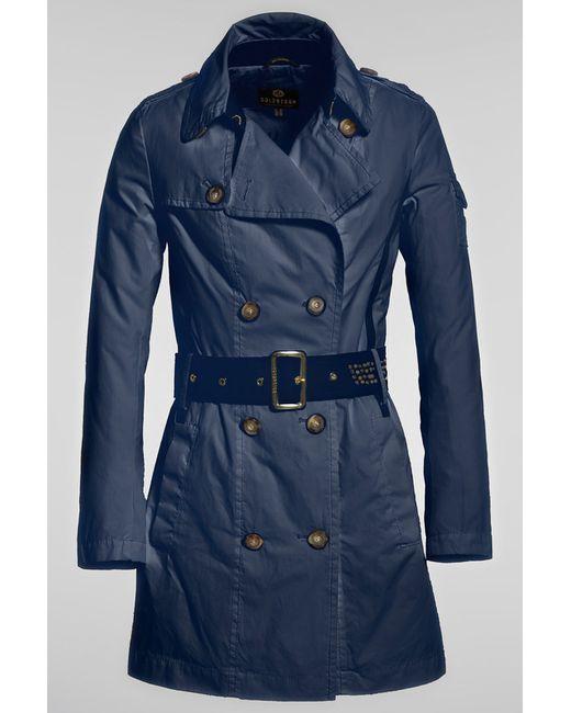 Goldbergh   Женское Синее Пальто