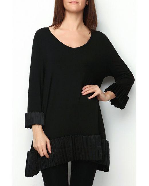Moda di Lorenza | Женская Чёрная Туника