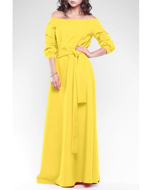 REBECCA TATTI | Женское Жёлтое Платье