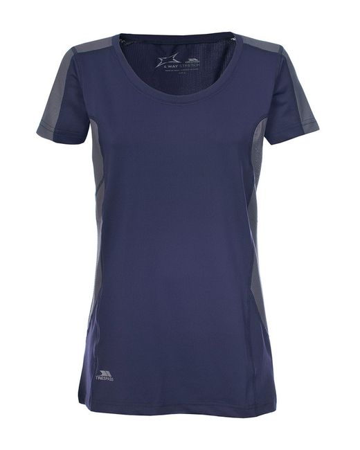 Trespass   Женская Фиолетовая Футболка