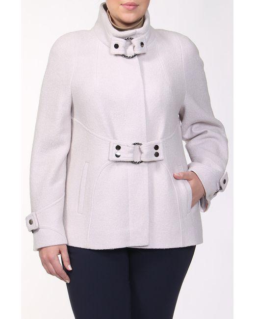 Амулет | Женское Белое Пальто