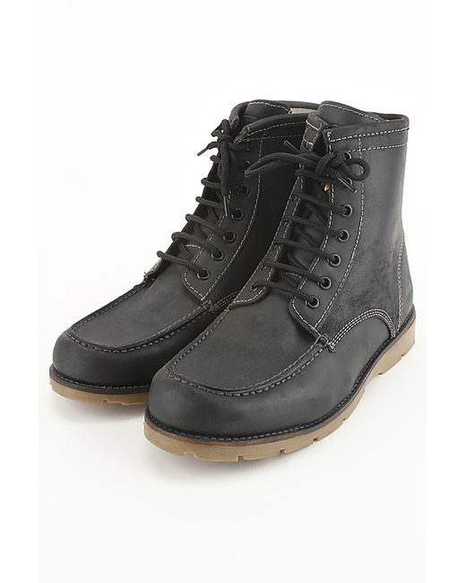Quiksilver | Мужские Чёрные Ботинки