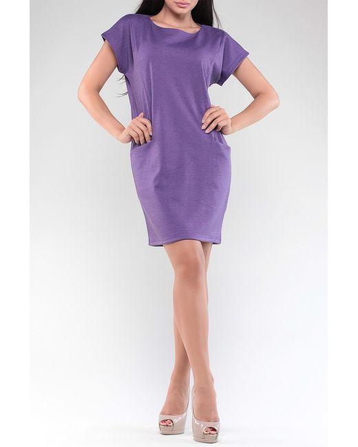 Maurini   Женское Фиолетовое Платье