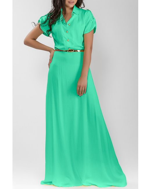 Dioni   Женское Зелёное Платье