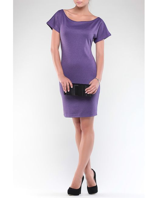 REBECCA TATTI   Женское Фиолетовое Платье