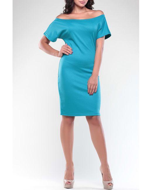 REBECCA TATTI   Женское Голубое Платье