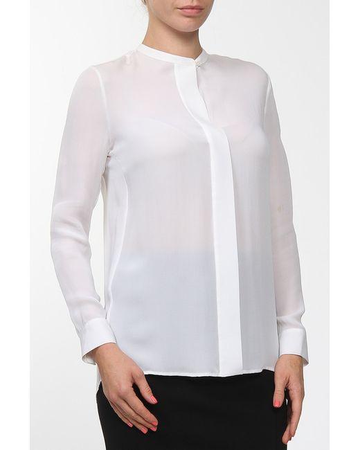 Vince   Женская Белая Блуза