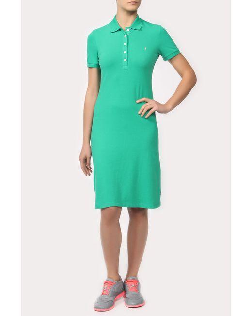 Nautica   Женское Зелёное Платье