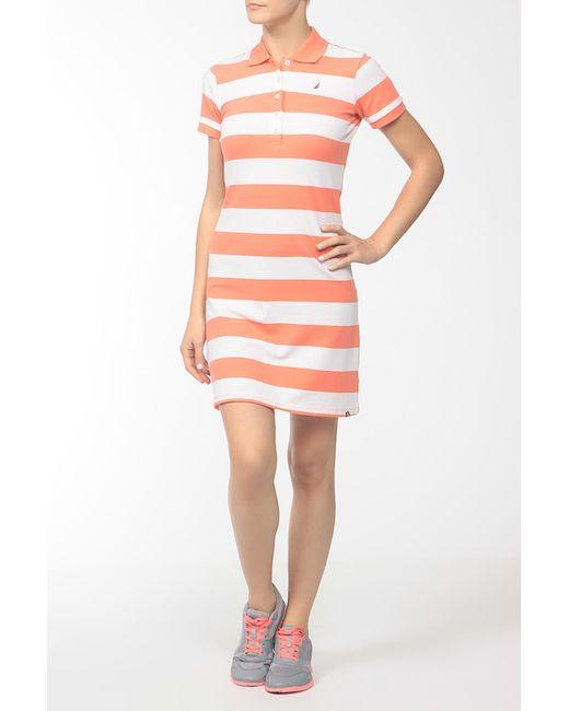 Nautica | Женское Оранжевое Платье