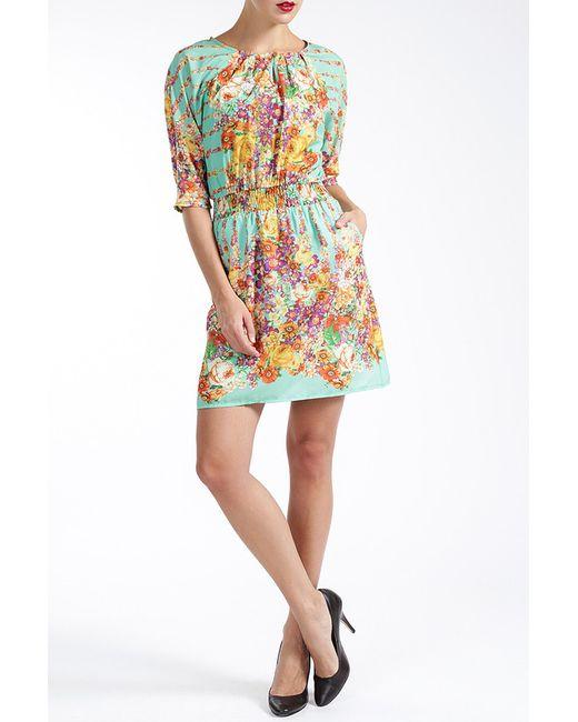 MBYMAIOCCI | Женское Многоцветное Платье
