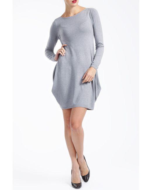 MBYMAIOCCI | Женское Серое Платье