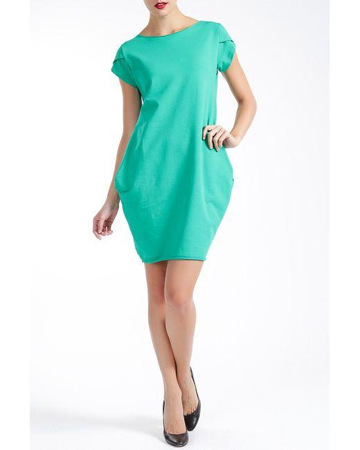 MBYMAIOCCI   Женское Зелёное Платье