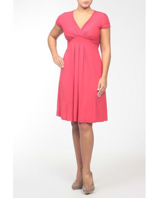 Pietro Brunelli   Женское Красное Платье Джерси