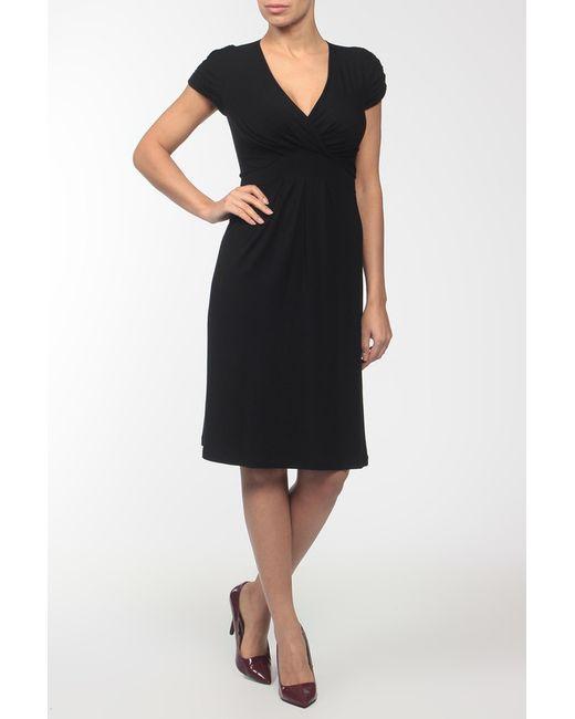 Pietro Brunelli | Женское Чёрное Платье Джерси