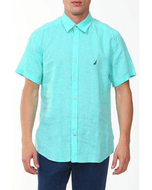 Nautica | Мужская Зелёная Рубашка